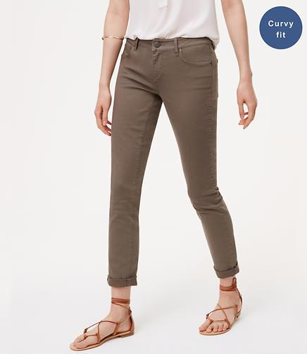 Image of Curvy Skinny Crop Jeans