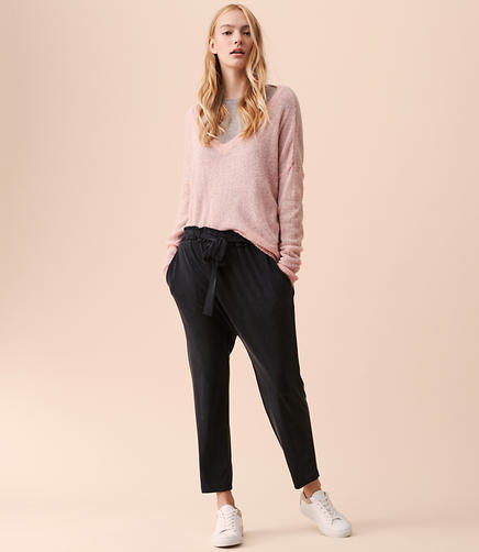 Lou & Grey Fluid Tie Pants
