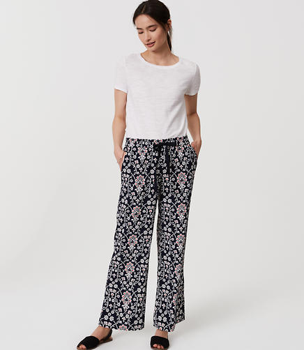 Image of Jasmine Fluid Drawstring Pants
