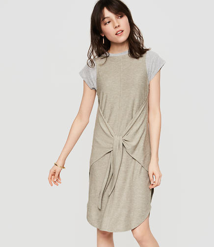 Image of Lou & Grey Tied Marlknit Dress