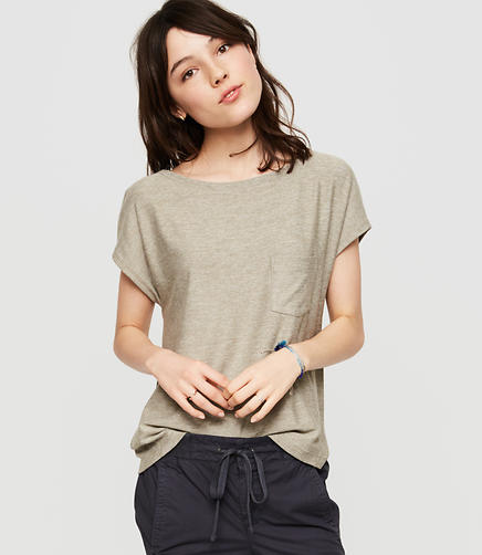 Image of Lou & Grey Marlknit Pocket Tee