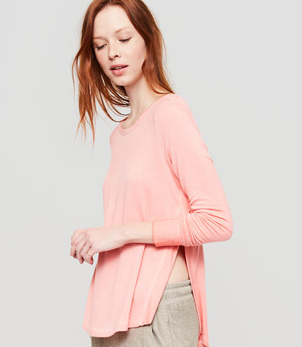 Image of Lou & Grey Signaturesoft Hi-Slit Tunic