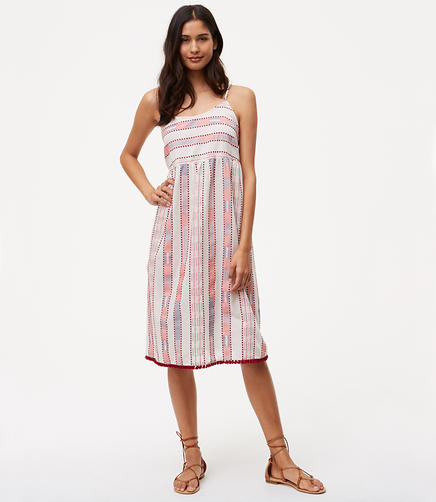 Image of LOFT Beach Veranda Dress