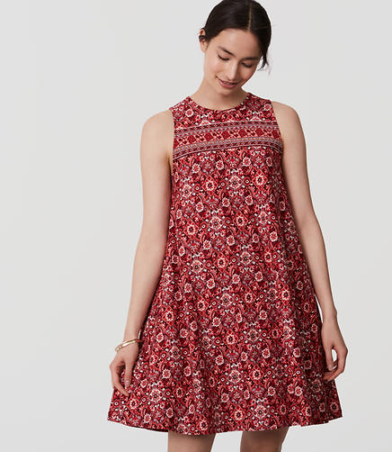 Image of Scarlet Garden Swing Dress