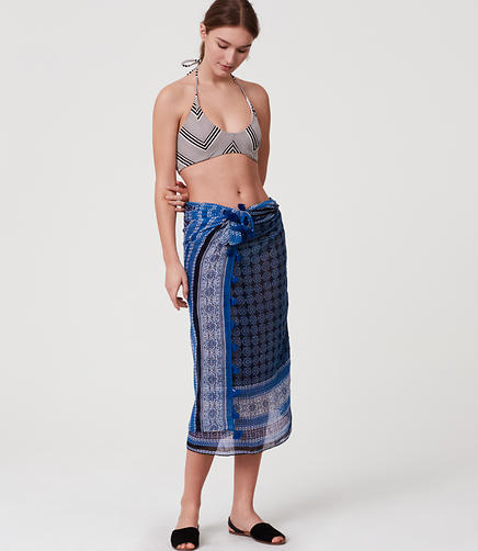 Image of LOFT Beach Mosaic Sarong