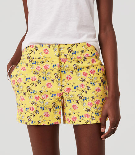 Image of Floral Riviera Shorts with 4
