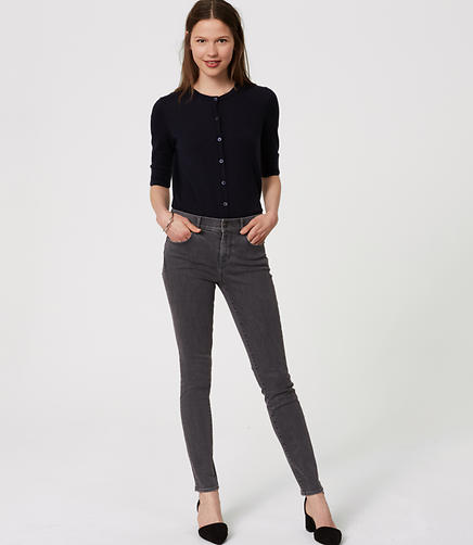 Image of Petite Modern Skinny Jeans in Vintage Grey Wash
