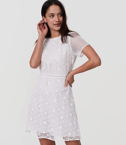 Image of Petite Camellia Lace Dress