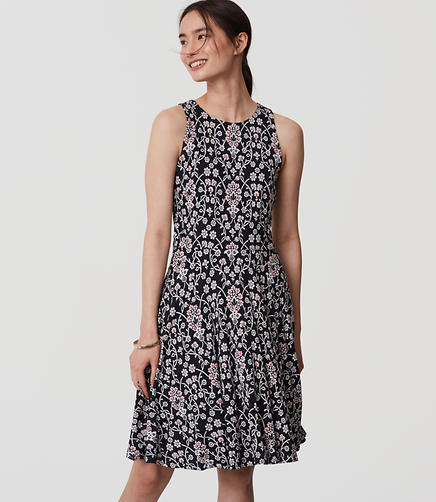 Image of Petite Jasmine Flare Dress