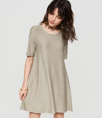 Image of Lou & Grey Marlknit Swing Dress