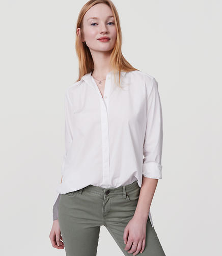 Image of Swingy Tunic Softened Shirt