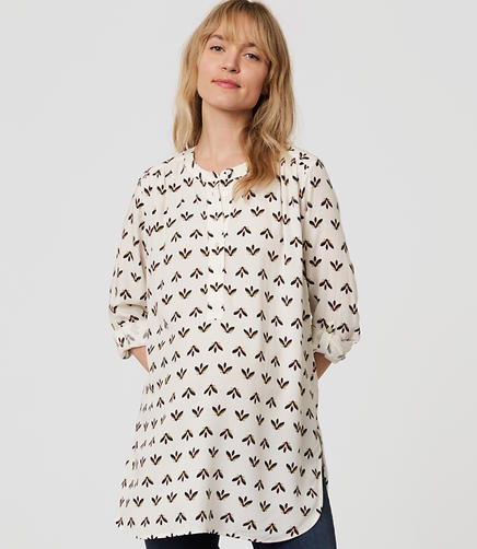 Image of Maternity Bee Henley Utility Tunic