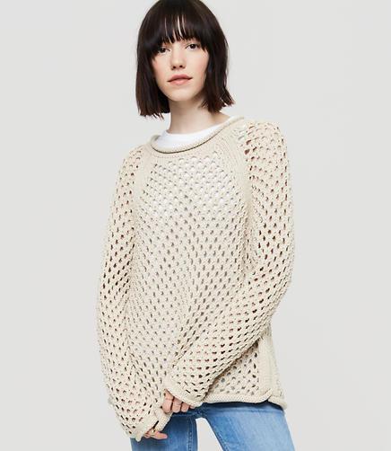 Image of Lou & Grey Mesh Sweater