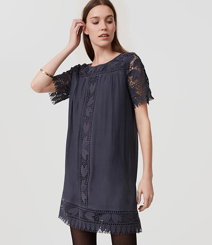 Image of Tulip Lace Swing Dress