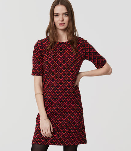 Image of Redhot Shift Dress