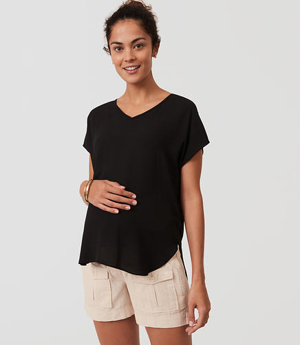 Image of Maternity Safari Shorts