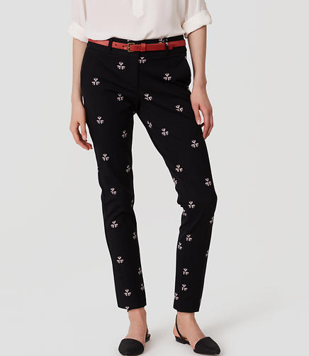 Image of Petaled Essential Skinny Ankle Pants in Julie Fit