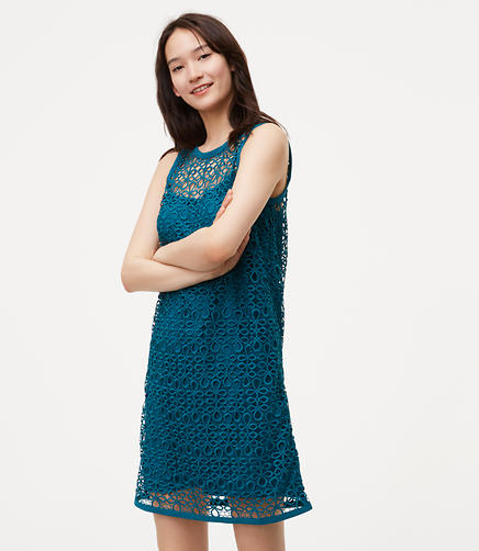 Image of Tie Back Lace Dress
