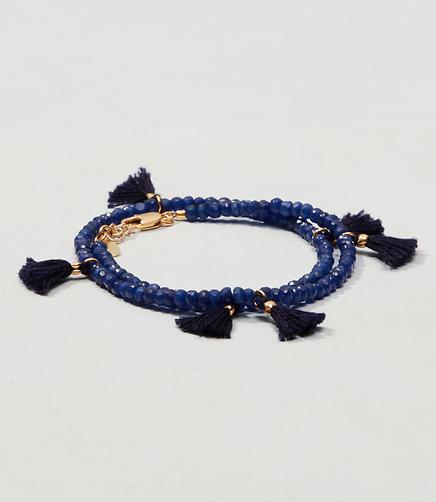 Image of Shashi Laila Gemstone Wrap Bracelet