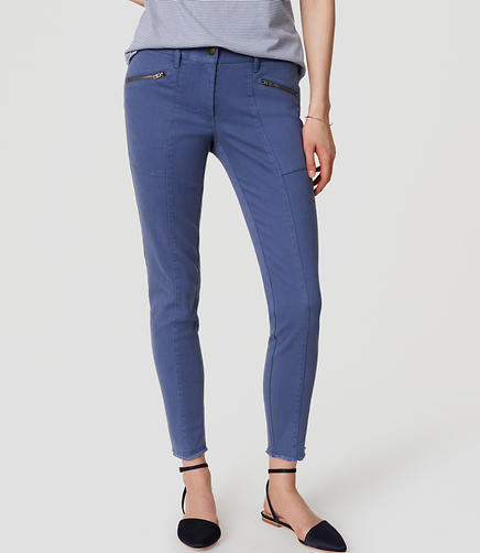 Image of Tall Frayed Skinny Pants