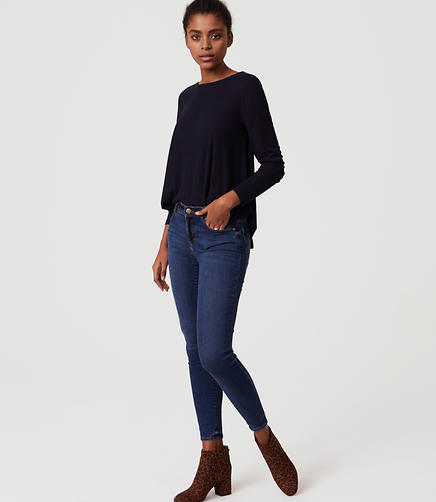 Image of Denim Leggings in Vivid Indigo Wash