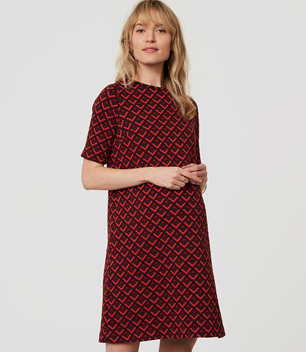 Image of Maternity Redhot Shift Dress