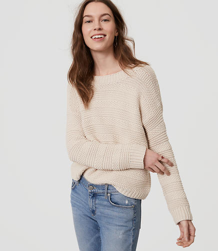 Image of Stitch Stripe Sweater