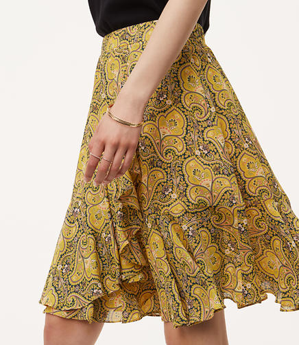 Image of Sun Garden Flounce Skirt