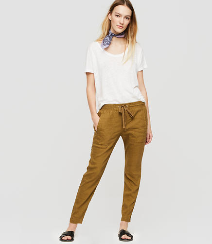 Image of Lou & Grey Softstretch Linen Pants
