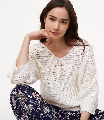 Image of Crochet Stitch Sweater
