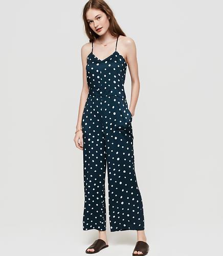 Image of Lou & Grey Polka Dot Jumpsuit