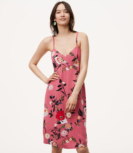 Image of Botanical Slip Dress