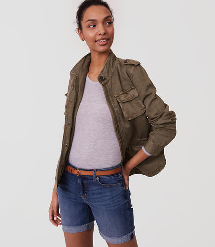 Image of Twill Utility Jacket