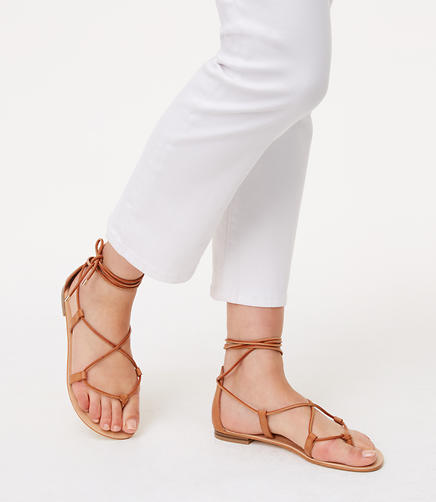 Image of Lace Up Sandals