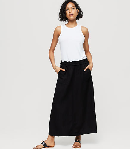 Image of Lou & Grey Fluid Cargo Skirt