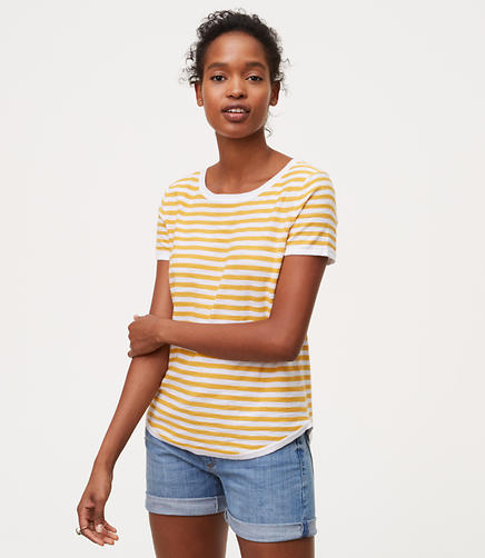 Image of Striped Sweater Tee