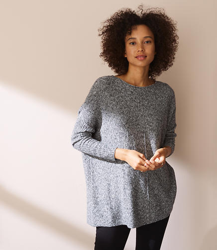 Lou & Grey Drop & Roll Sweater
