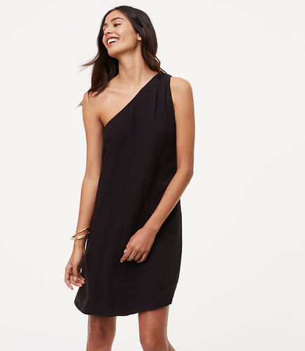 Image of One Shoulder Dress