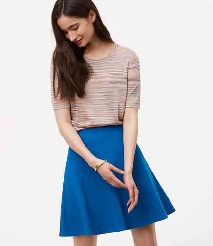 Image of Petite Pull On Flippy Skirt