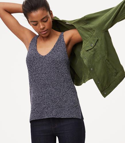 Image of Marled Sweater Cami