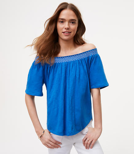 Image of Off The Shoulder Tee