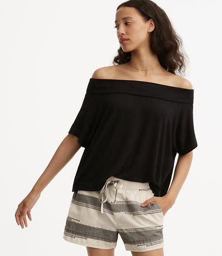 Image of Lou & Grey Ribbed Signaturesoft Off The Shoulder Top