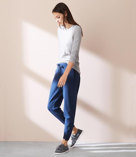 Image of Lou & Grey Rebound Terry Slim Sweatpants