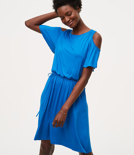 Image of Cold Shoulder Dress