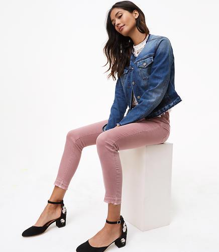 Modern Unpicked Skinny Ankle Jeans