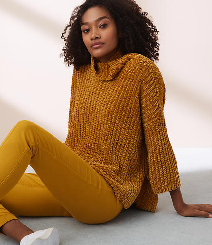 Lou & Grey Textured Chenille Sweater