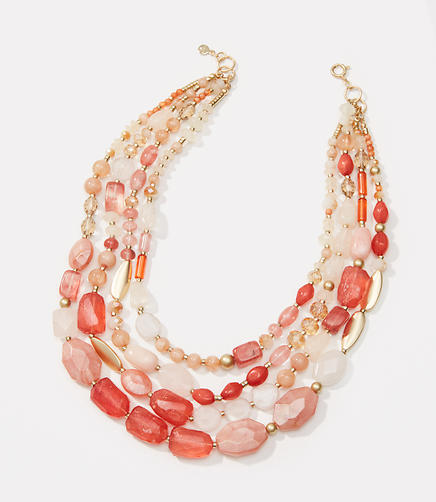 Image of Sunset Multistrand Necklace