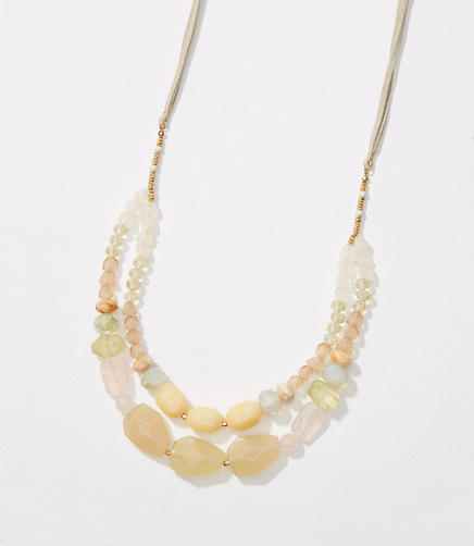 Image of Double Strand Beaded Necklace