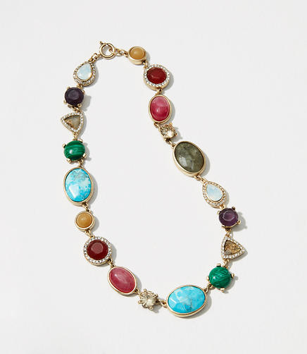 Image of Mixed Stone Necklace