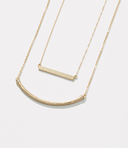 Image of Layered Bar Necklace